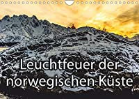 Leuchtfeuer der norwegischen Kueste (Wandkalender 2022 DIN A4 quer): Der Kalender beinhaltet die typischen und vielfach verbreiteten Leuchtfeuer und Leuchttuerme Norwegens (Monatskalender, 14 Seiten )