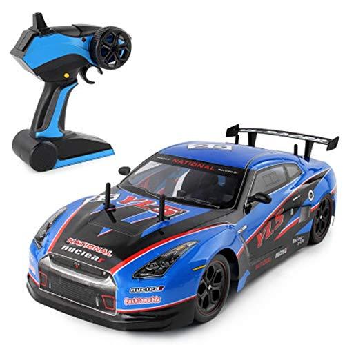 Auto modelo 1:10 Rc Car High Speed 2.4g Vehículo De Control Remoto 4wd Radio Wireless Racing Car Toys Con Coches Ligeros Recargables Para Niños