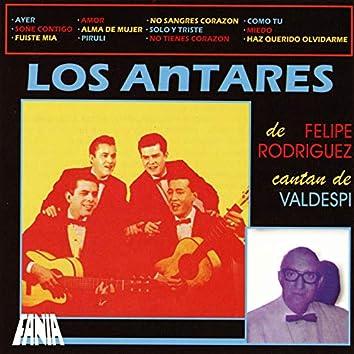 """Los Antares de Felipe """"La Voz"""" Rodríguez Cantan de Valdespí"""