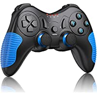 Jackiss Pro Wireless Switch Controller with Dual Motion/Vibration/Screenshot (Blue)
