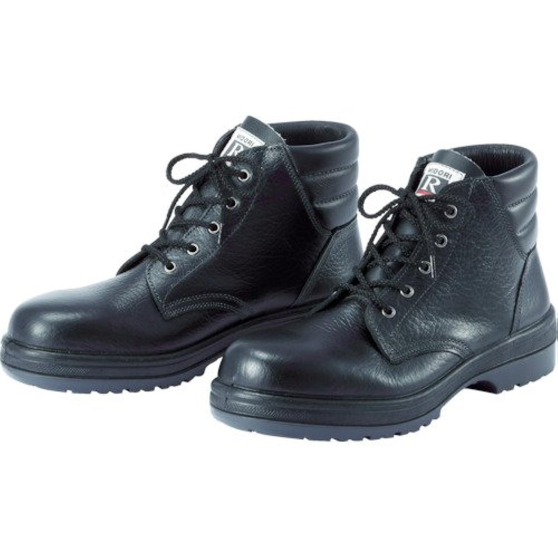 ミドリ安全 ラバーテック中編上靴 25.5cm RT920-25.5