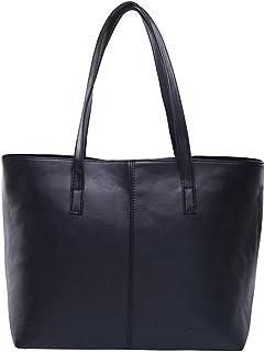 cdbeb7079b Les femmes sac sac à main en cuir sacs à bandoulière courte Noir/Gris Sacs