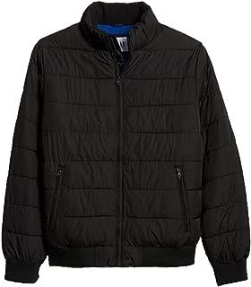 Mens Long Sleeve True Black Warmest Jacket
