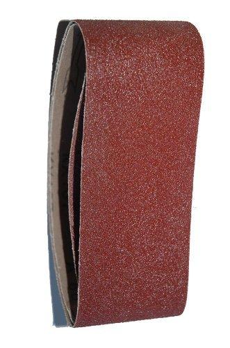 10er Pack Schleifband 915 mm x 100 mm Körnung 80 Schleifpapier Gewebeschleifband