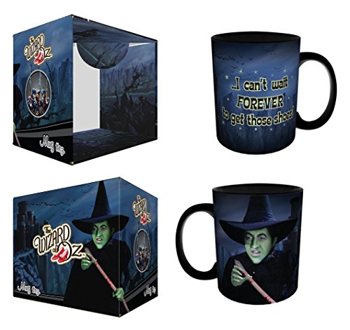 The Wizard of Oz Wicked Witch Can't Wait Forever to Get Those Shoes Quote Classic Hollywood Movie Film Ceramic Gift Coffee (Tea, Cocoa) 11 Oz. Mug
