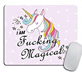 Funny Mousepad, Funny Mouse pad, Unicorn Mousepad, Unicorn Mouse pad, Unicorn Gift, Gift for Coworker, Gift for Boss, Going Away Gift