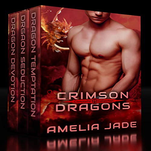 Crimson Dragons: The Complete Collection audiobook cover art
