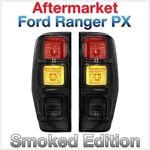 Tunez Fumé Feux arrière lampe arrière pour ranger PX T6 MK1 MK2 Camion de voiture
