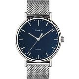 Timex Men's Fairfield 41mm Watch – Silver-Tone