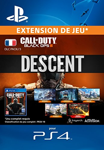 Call of Duty: Black Ops III - Descent DLC [Extension De Jeu] [Code Jeu PSN PS4 - Compte français]