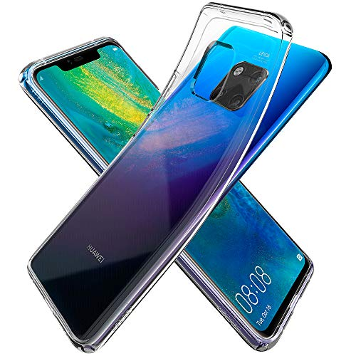Spigen Cover Liquid Crystal Compatibile con Huawei Mate 20 PRO - Crystal Clear