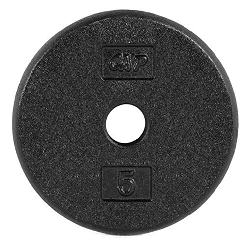 Barbell Iron Disc Weight Plate Black Fitness Cast Iron Grip Plate for Barbell, Plate Iron Grip Plates for Weightlifting, 1.25 Lb-20 Lb Olympic Grip Plate (Size : 7.5 lb)