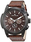 TOM TAILOR Watches Herren-Armbanduhr Analog Quarz Verschiedene Materialien 5414902