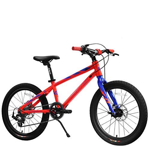 Kindercompetitie fiets marathon fiets outdoor kinderen mountainbike geschikt voor jongens en meisjes paardrijden fietsen kinderen Fitness oefening auto 7 speed / 20 inch /