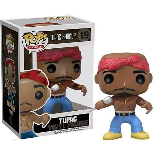 SSN Pop Rapper Tupac 2pac Star Peripheral Hand Office Boy Limited Toy 19#