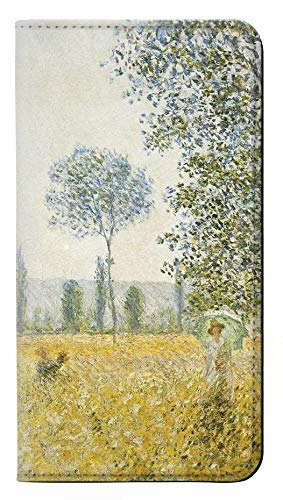 RW2682 Claude Monet Fields In Spring Flip Case Cover For IPHONE 5 5S SE