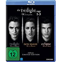 Die Twilight Saga 1-3 -