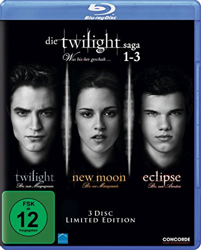 Die Twilight Saga 1-3 - Was bis(s)her geschah... [Blu-ray] [Limited Edition]