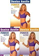 Denise Austin Power Zone Vol 1-3 Cardio/Toning/Abs Workout (3 Pack)