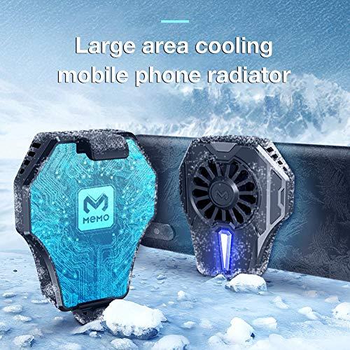 pologyase Telefon Kühlen Lüfter, Wassergekühlter Kühler, Handy-Zubehör Für Kühle Telefontemperaturen Glatte Spielbreite 65-85mm