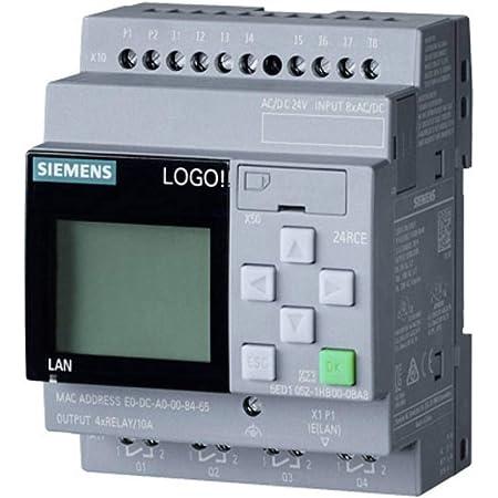 Siemens Indus Sector Logo Logikmodul 6ed1052 1hb08 0ba0 Gewerbe Industrie Wissenschaft