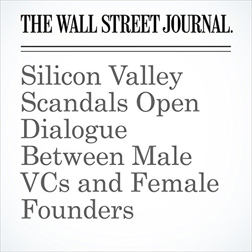 Silicon Valley Scandals Open Dialogue Between Male VCs and Female Founders copertina