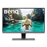 BenQ EW277HDR - Monitor de 27' FullHD (1920x1080, 4ms, 60Hz, 2x HDMI, VA, HDR, 93% DCI-P3, 100% Rec.709, Altavoces, Eye-care, Sensor Brillo Inteligente Plus, Flicker-free, Low Blue Light) - Negro