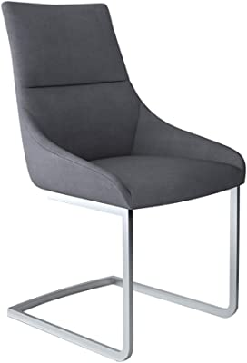 Amazon.com: Silla Beetle, Textil, Gris/Negro: Kitchen & Dining
