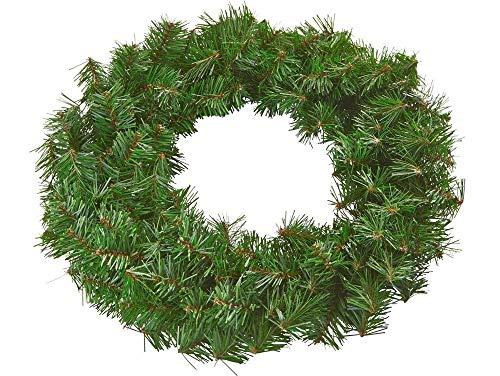 Riffelmacher Tannenkranz 19011-40cm - Adventskranz zum selber schmücken Weihnachten Adventszeit