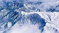 壮大な雪山1000ピースジグソーパズル 木製ジグソー脳チャレンジ