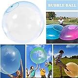Bola inflable de goma inflable interactiva llena de agua duradera, súper grande e increíble Bubble...