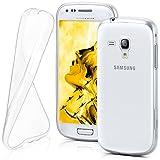 MoEx Coque Transparente Compatible Samsung Galaxy S3 Mini   antidérapante/très Fine, Transparent