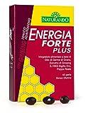 Naturando Energia Forte Plus 40 perle Energetico Naturale per Contrastare la Stanchezza Fisica e Mentale