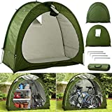 AFLIFLI Bike Cover Storage Tent, Garden Storage Sheds for Outdoor Camping, Upgrade Polyester Waterproof Bicycle Shed, Portable Foldable Pool Tools