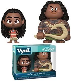 Funko Vynl: Moana - Maui and Moana 2Pack Collectible Figure, Multicolor