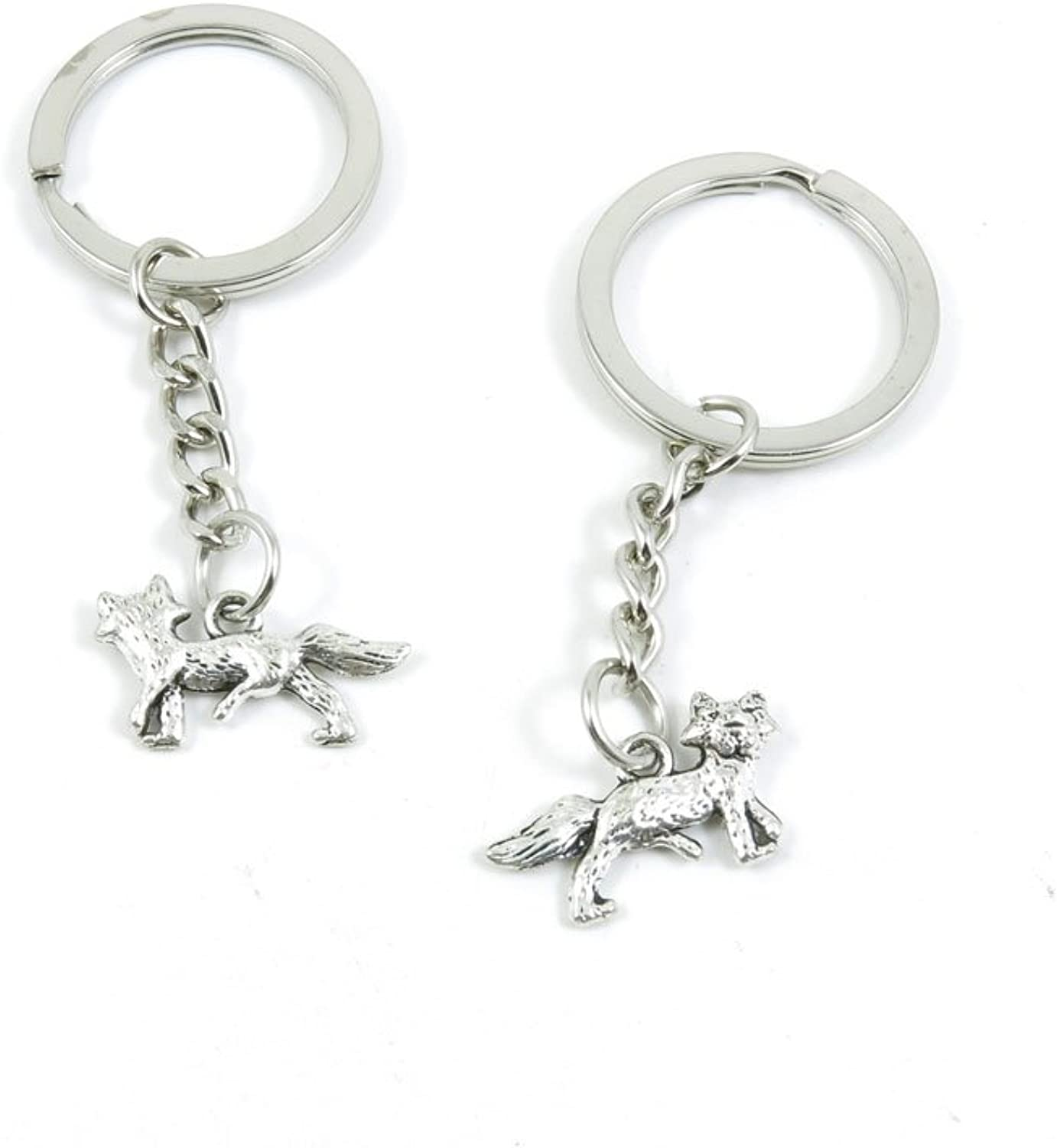 220 Pieces Fashion Jewelry Keyring Keychain Door Car Key Tag Ring Chain Supplier Supply Wholesale Bulk Lots E7UU3 Hound Dog