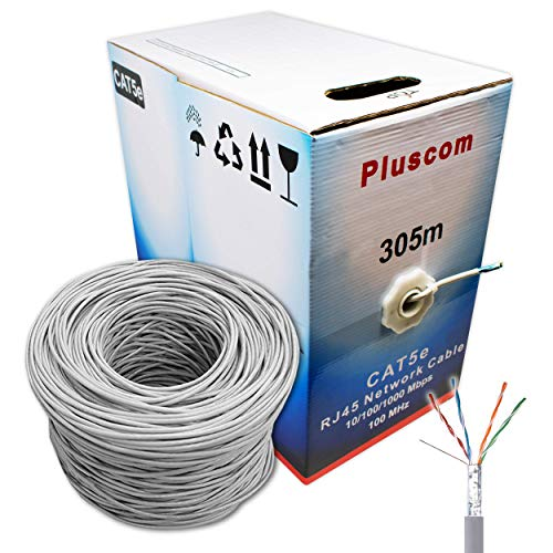 I-CHOOSE LIMITED 305m Metre Cat5e AWG24 Ethernet LAN FTP