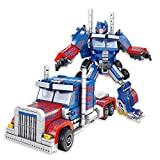 Juguetes de deformación, Optīmūs Prǐmē Model Deformation Car Toy Deformation Robot Building Block Set Deformation Car Creative Assembly Creator Education Building Block Juguete para niños Regalo