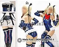 コスプレ衣装◆DEAD OR ALIVE6 /マリー・ローズ/04 青/デドアラ コスチューム 変身 仮装 ステージ服 舞台 ハロウィン クリスマス