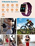 Immagine 2 yamay smartwatch orologio fitness donna