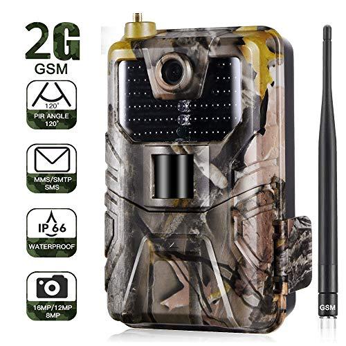 12Mp 1080p Videoc/ámara de Naturaleza Impermeable Nocturna Denver WCM-8010 C/ámara de Caza vigilancia