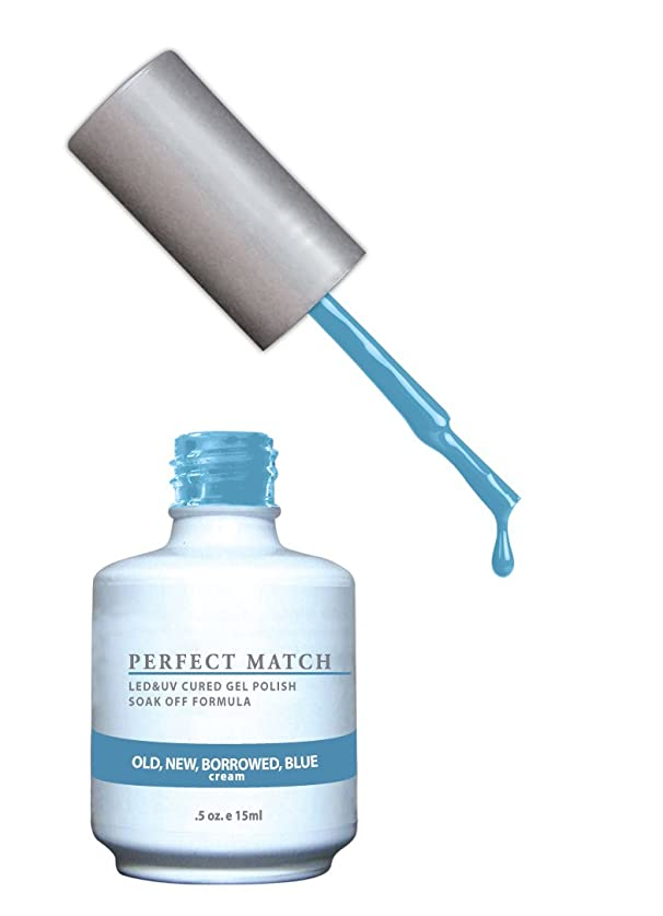 コイル発表収束LECHAT Perfect Match Nail Polish, Old New and Borrowed/Blue, 0.500 Ounce