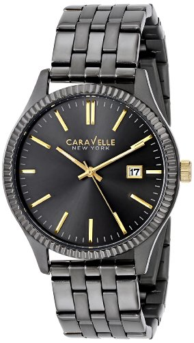 Caravelle New York Men's 45B120 Stainless Steel Watch with Analog Display