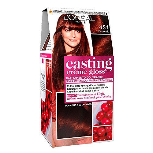 Haarkleurmiddel Casting Crème Gloss zonder ammoniak N454 Brownie