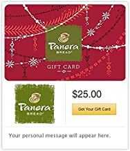 panera bread gift certificate