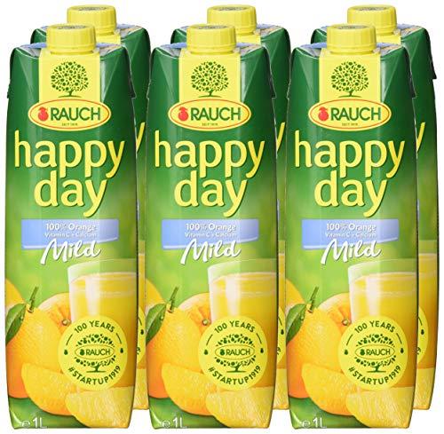 Rauch Happy Day Orange Mild+Ca, 6er Pack (6 x 1 l) - 5
