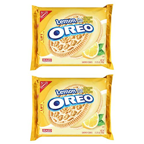 Oreo Sandwich Cookies - Lemon Creme