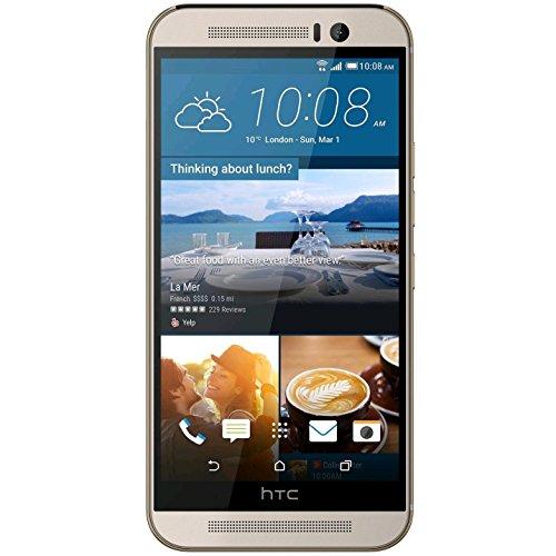 HTC One M9 (32 GB, Gold auf Silber)