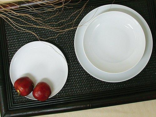 HOTELWARE 4350509 Plat Royal Zen Rond, 32 cm, Porcelaine, Blanc