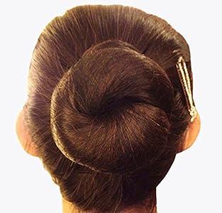 Redecillas para el pelo invisibles de 50cm con borde elástico para evitar que se caiga el cabello